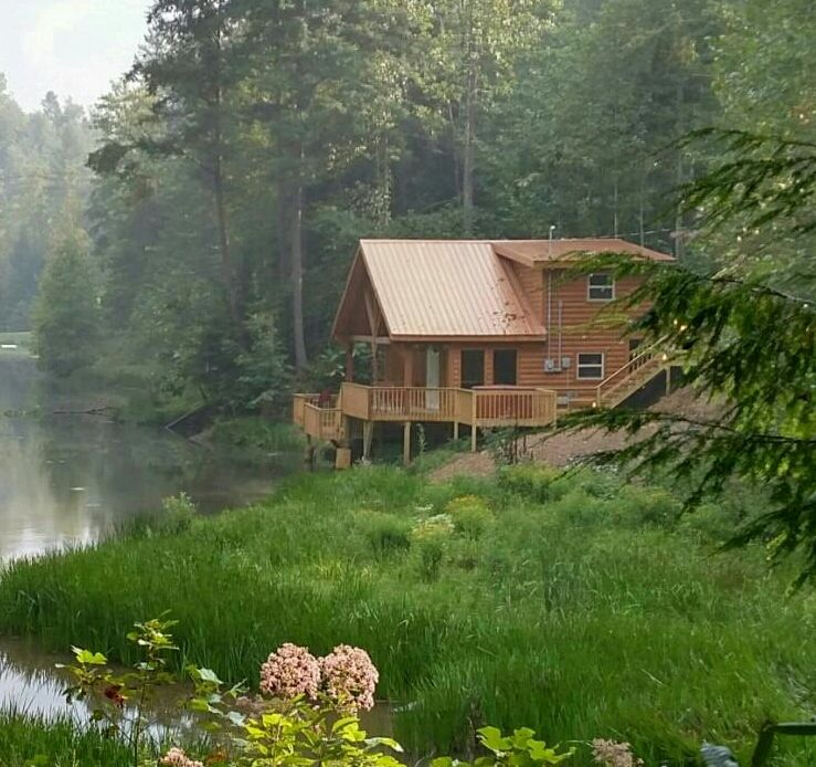 Beau Waterfront Cabin In Red River Gorge