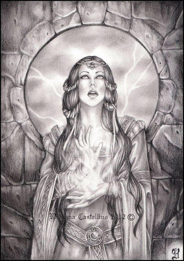 SciFi and Fantasy Art Morgan le Fay by Rossana Castellino   Avalon ...