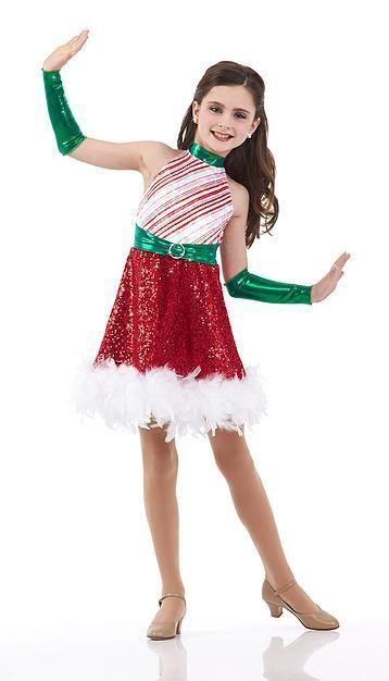 Details about Christmas Dance Dress Pageant Ballet Costume