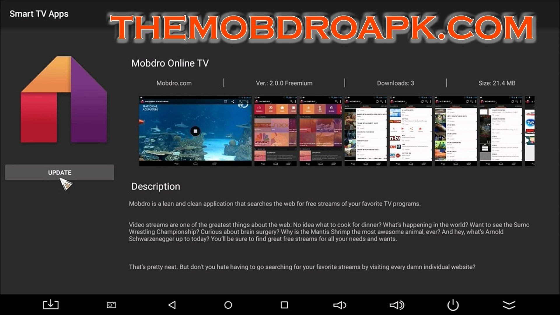 Mobdro APK Download Android Latest and Old Version Video