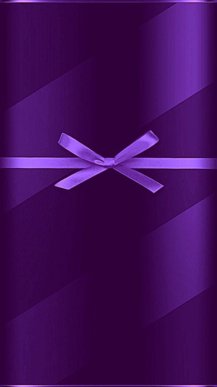 Purple Phone Wallpaper Phone Wallpaper Purple Wallpaper Bow Wallpaper