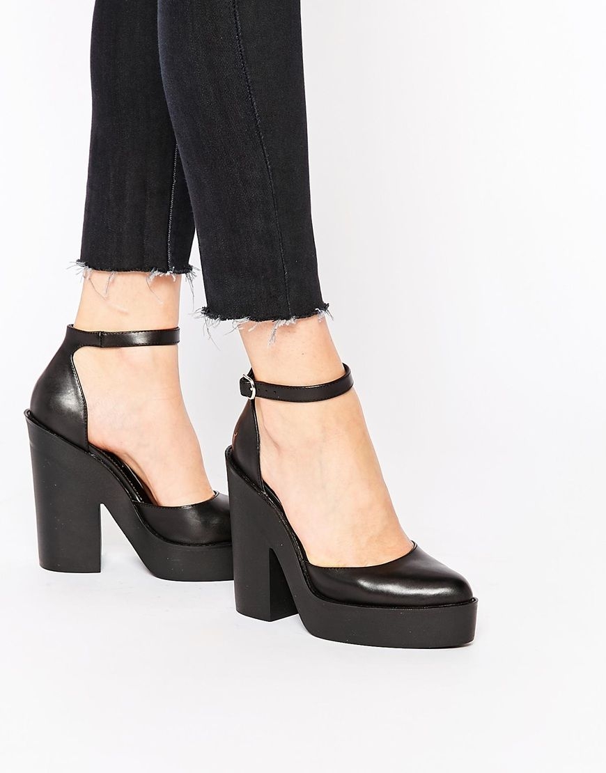 Buy Women Shoes / Windsor Smith Pow Ankle Strap Heeled Shoes