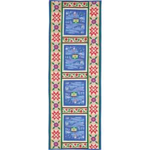 Home for the Holidays: FREE Table Runner Pattern