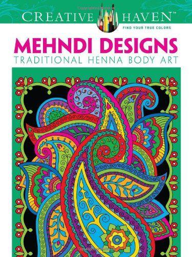 Book Dover Creative Haven Mehndi Designs Coloring Books