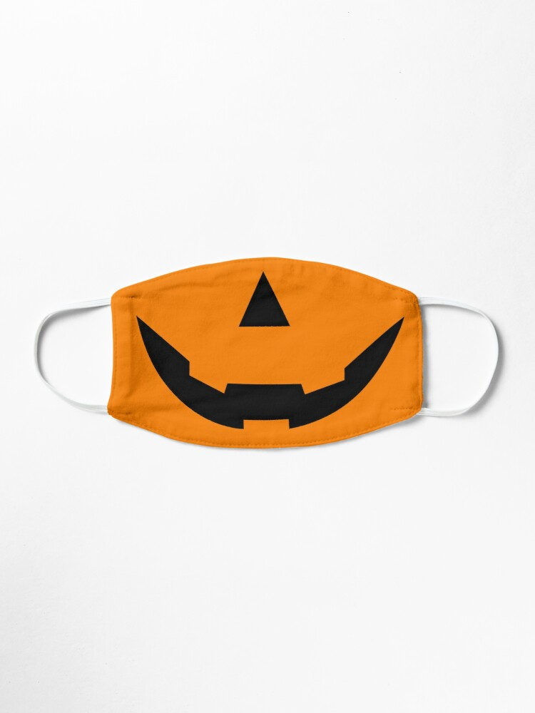 Halloween 2020 Pumpkin Wide Smile for face mask • Millions