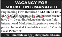 Marketing Manager Jobs Marketing Manager Job Advertisement