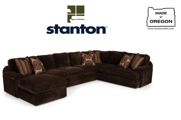 Awesome Stanton Sectional Couch Rifes Home Furniture Eugene Caraccident5 Cool Chair Designs And Ideas Caraccident5Info