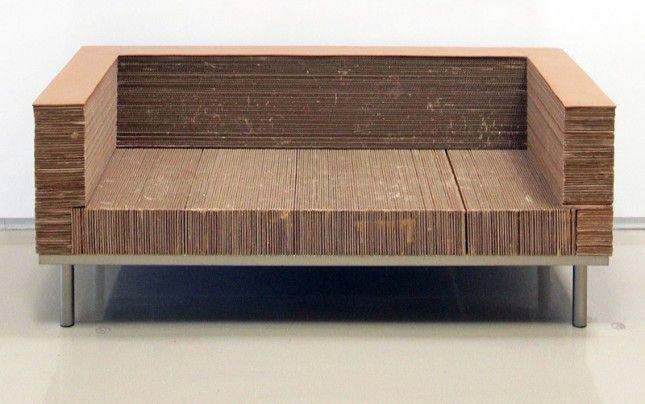 17 Quirky Couches Made From Repurposed Materials Cardboard Furniture Design Cardboard Furniture Diy Cardboard Furniture