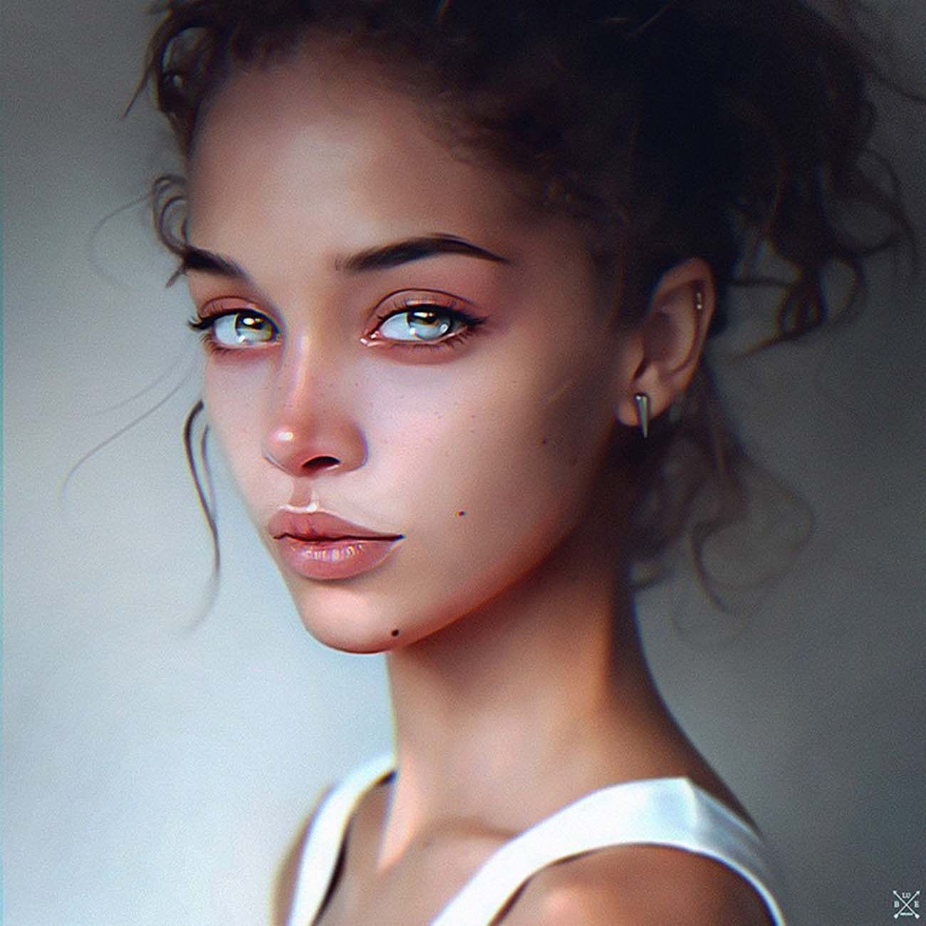 Digital Painting Inspiration #028 - Paintable