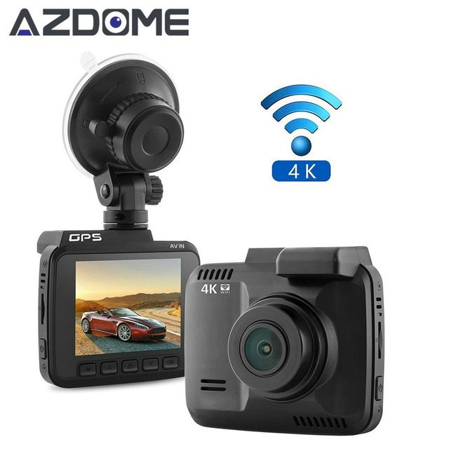 WiFi Car DVR Camera recorder Auto Camcorder 2880x2160P 4K car Dash Cam with gps