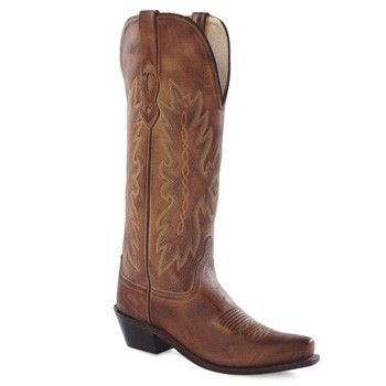 Yet another boot option about the shade of brown & height I'm looking for.  Old West Brand