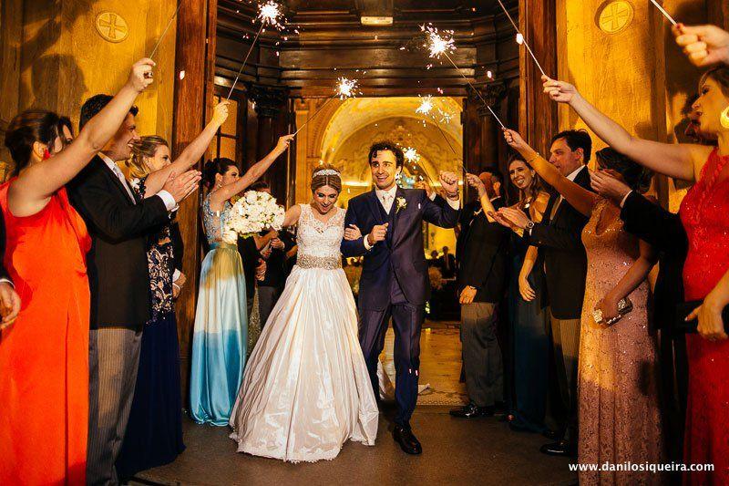 Casamento Rosana + Lucas - Basilica Nossa Senhora do Carmo - Contemporâneo 8076 - Danilo Siqueira - Fotografo de Casamento