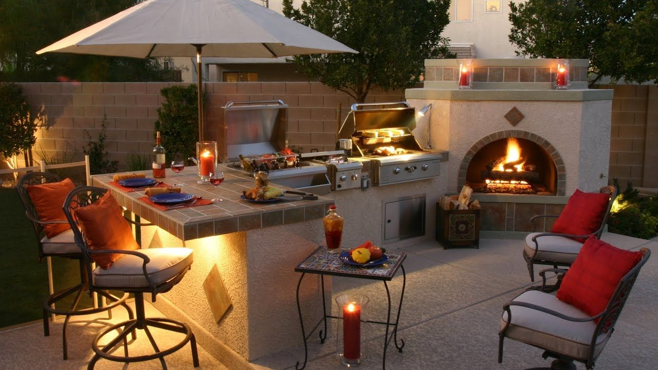 28 Awesome Concepts of How to Build Backyard Bbq Area Design Ideas