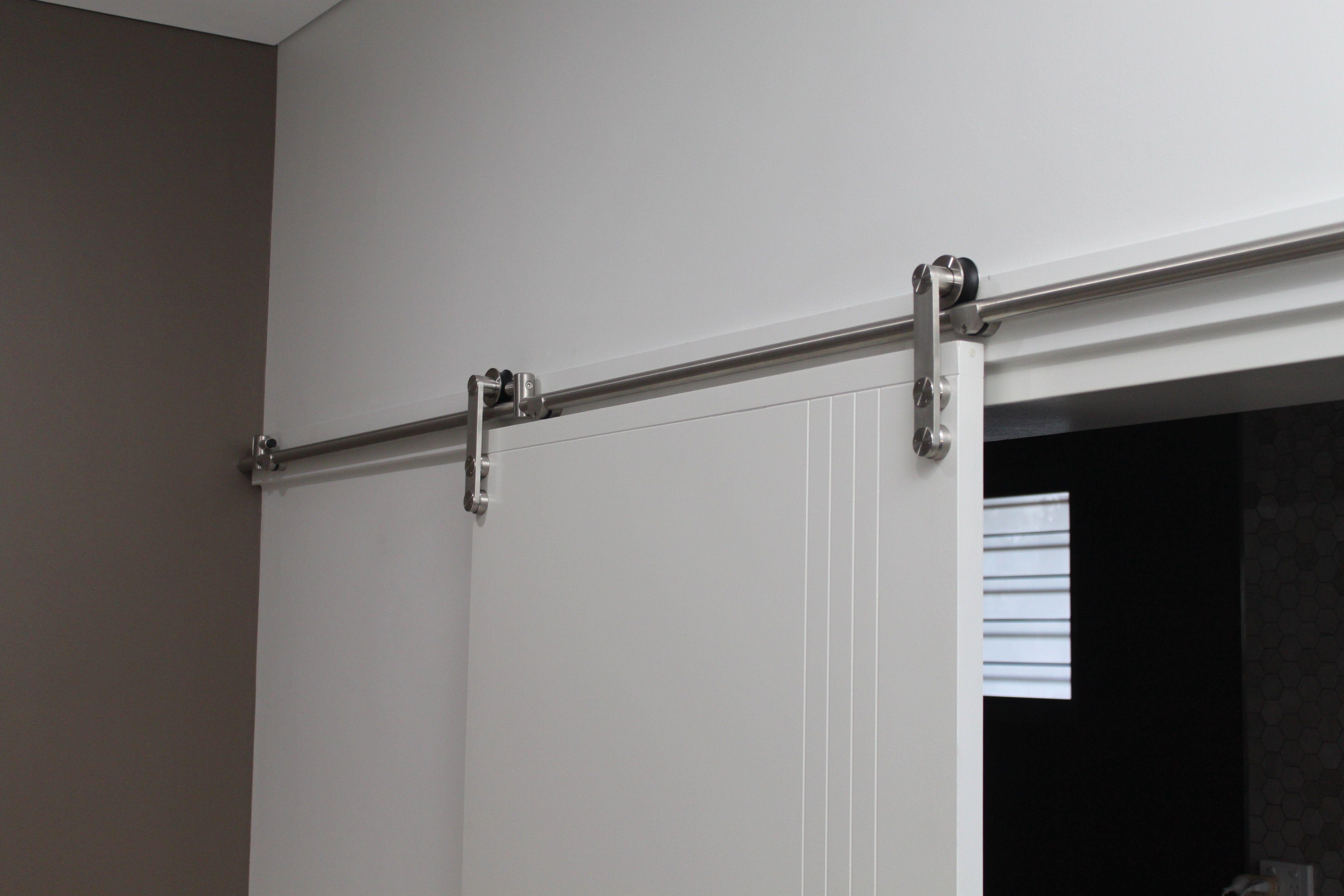 We Recently Had A Builder That Left 2100 High Openings For Top Hung Doors Matching The Casement Corinthian Doors At 2040 H Modern Barn Door Barn Door Casement