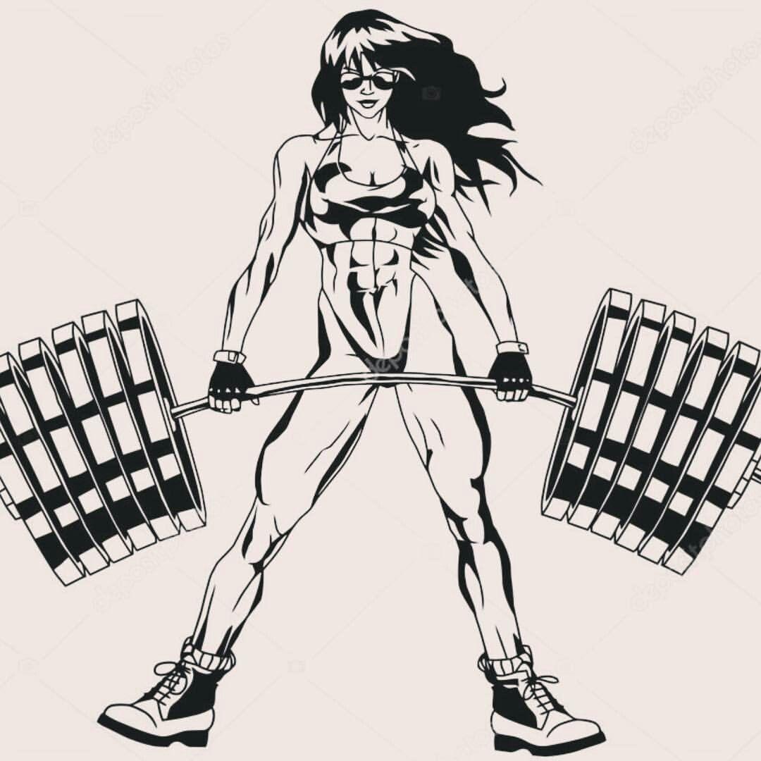 She Hulk Com Imagens Desenhos De Academia Fisiculturismo