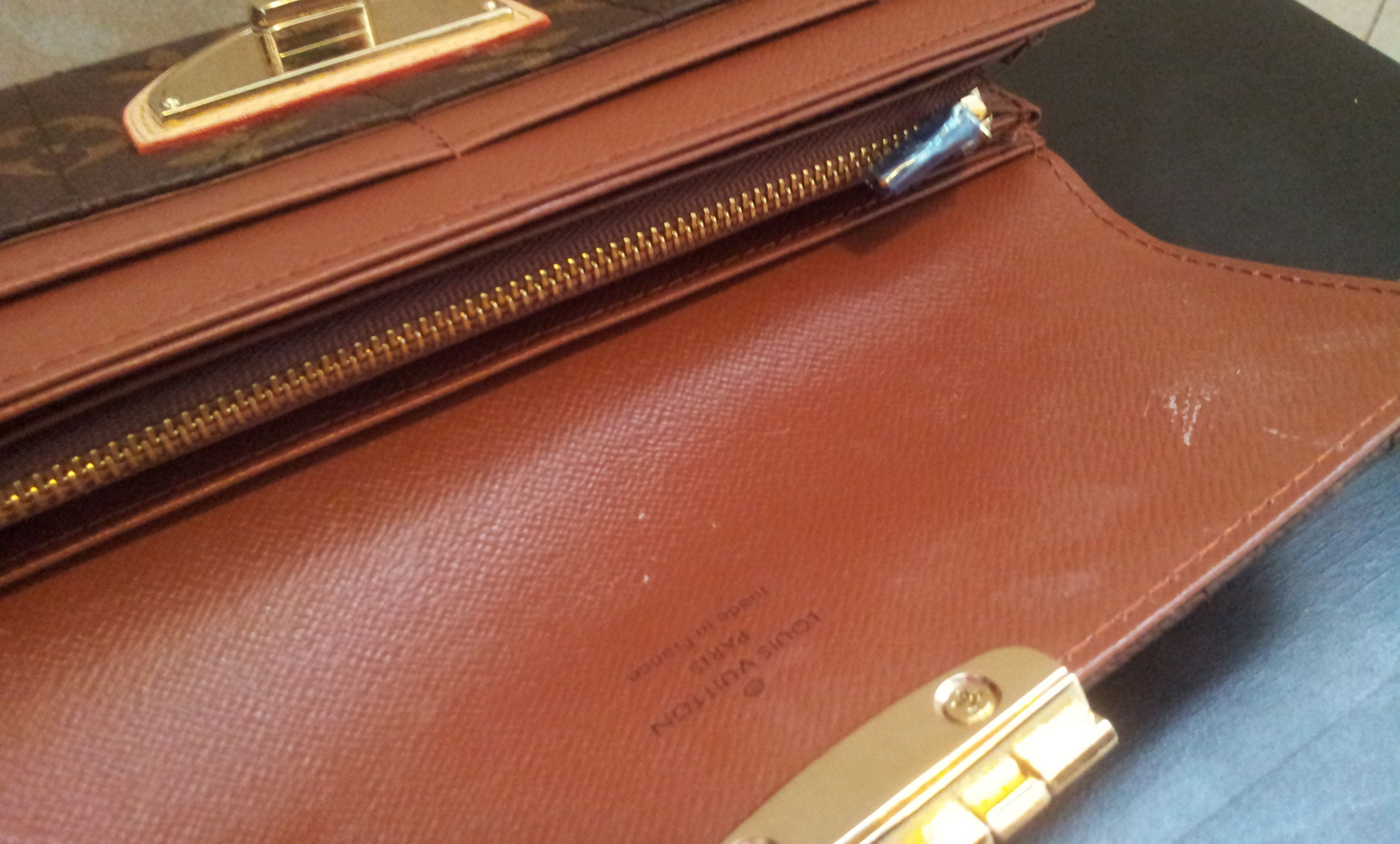 separation shoes f9743 4b187 Louis Vuitton Monogram Canvas Etoile Sarah Wallet M66556 ...