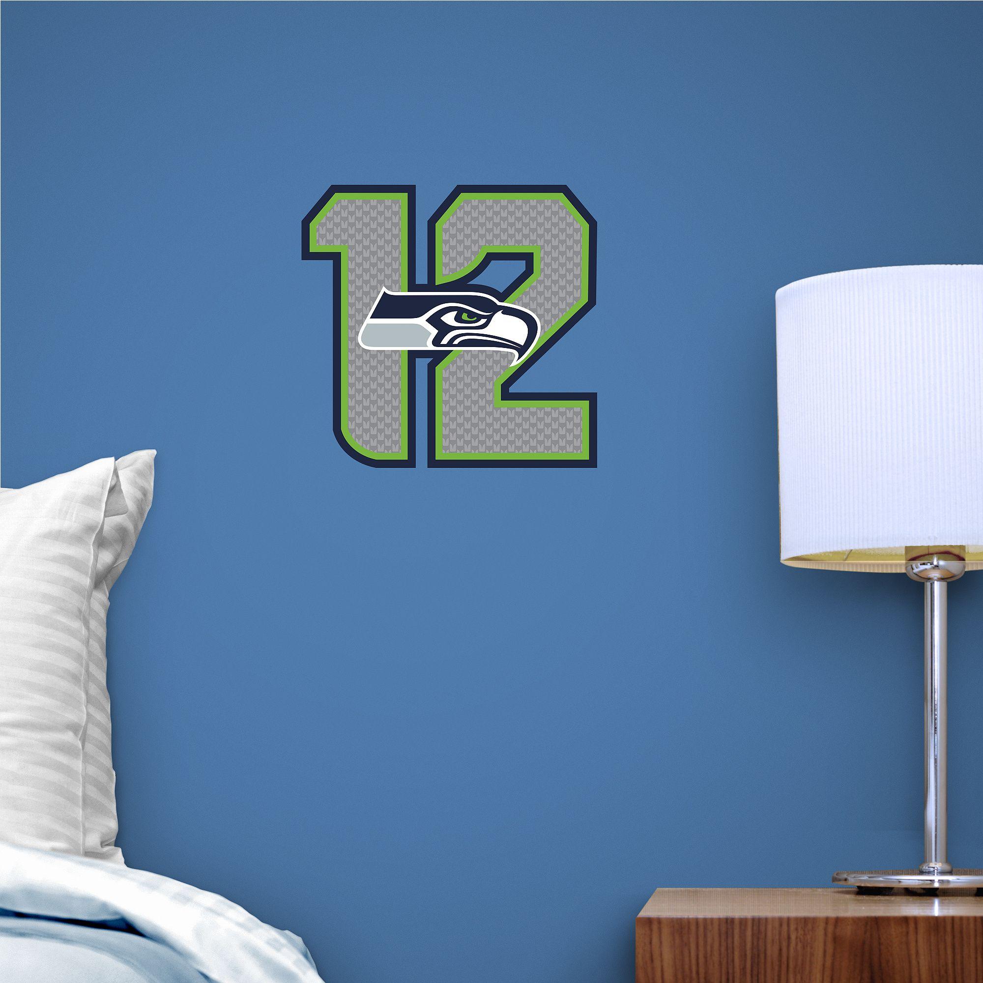 Seattle Seahawks 12 Logo