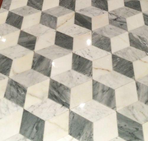 Marble Floor Pattern tumbling cube pattern marble floor | marble | pinterest | marble