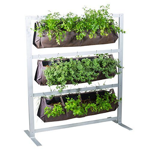Algreen 34002 Garden View Vertical Living Wall Planter Growing