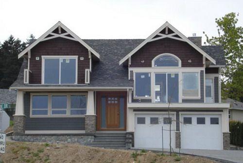 Custom Exteriors Decor Plans modern house plans split level exterior remodel ideas   home decor