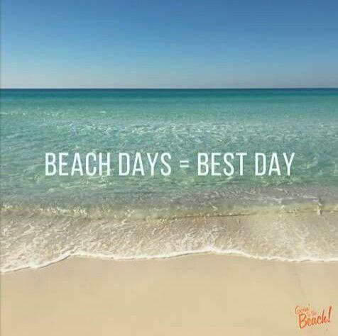 Beach days=Best days!!   Beach paradise, Beach, Beach quotes