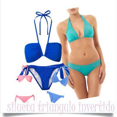 Triángulo A Favorecen Bikinis Más Que Silueta Los Una Invertido gbf76y
