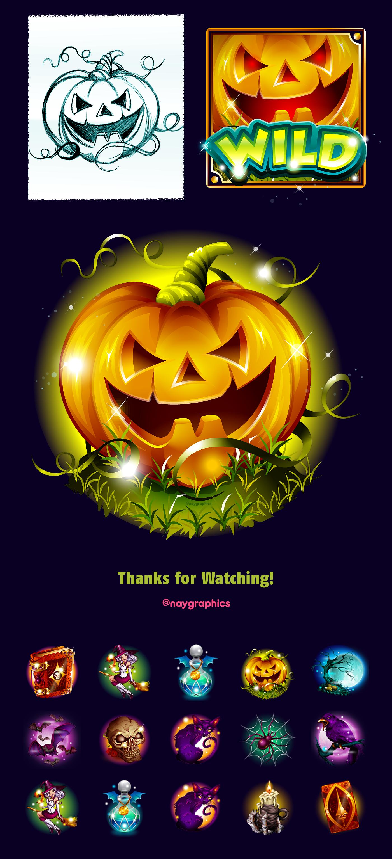 Naida Jazmin Ochoa Slot Symbols Halloween Machine Machine Design Symbols Slot