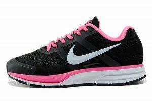 a91a720ba27 Nike Air Zoom Pegasus 30 Suede Black Vivid Pink White 599205 003 Womens  Sneakers
