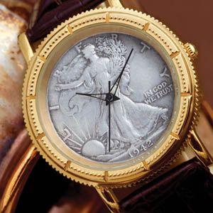 Stauer Walking Liberty Coin Watch Stauer Coin Watches