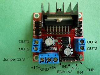 Controle D Un Ou Deux Moteurs Cc Avec L298 Et Arduino Arduino Moteur Microcontroleur