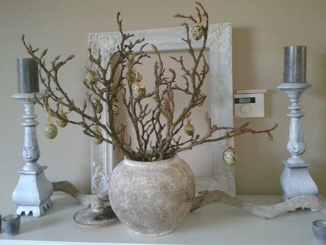 Met een dikke pastalaag muurvuller tover je al je potten vazen en lampen om tot oude aardewerk for Deco oude huis