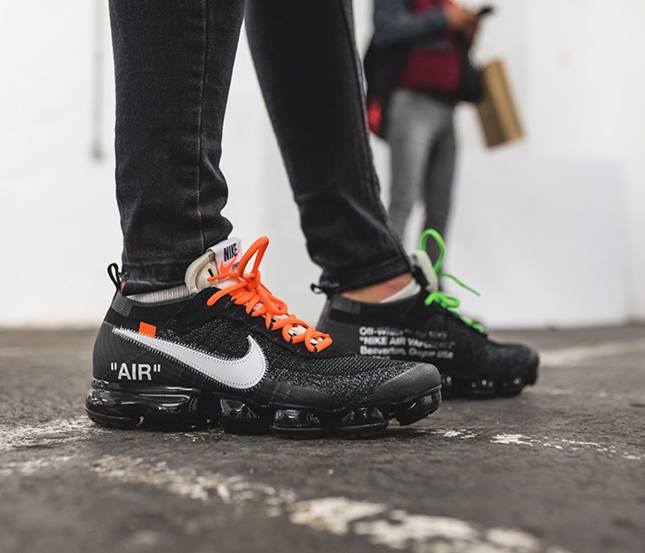 Nike Air Vapormax Flyknit Off White Sneakers Fashion Sneakers Men Fashion Sneakers