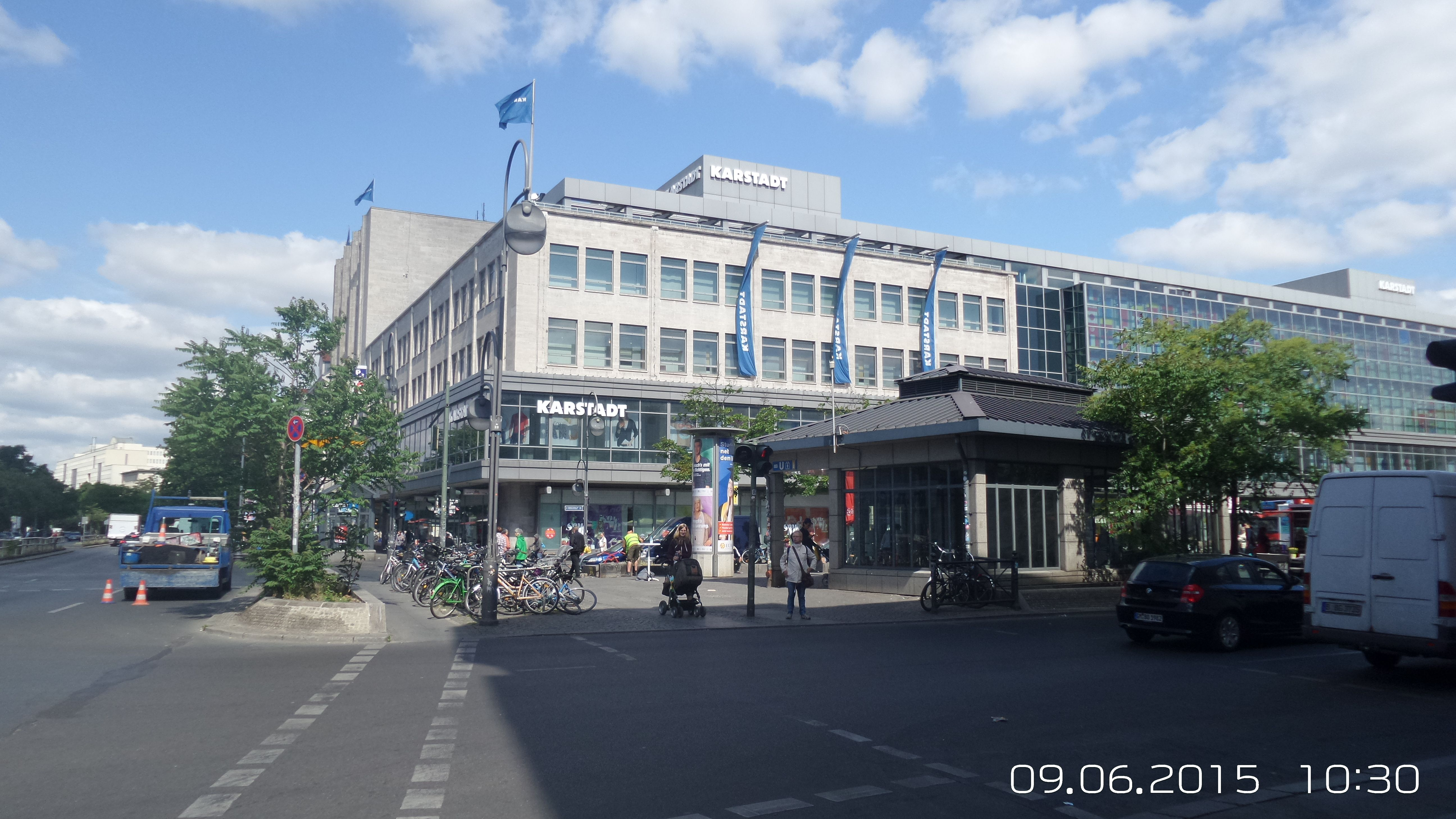 Neukölln, Karstadt am Hermannplatz