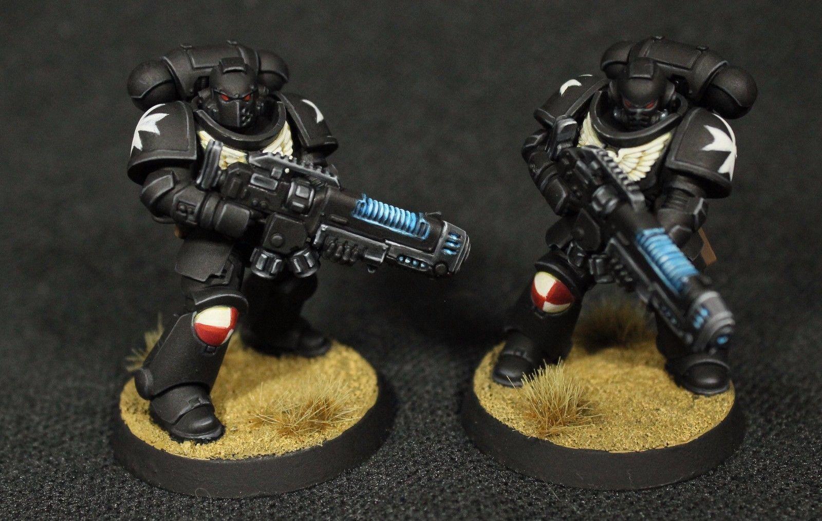 Warhammer 40K Space Marines Black Templars Upgrade Plasma Gun