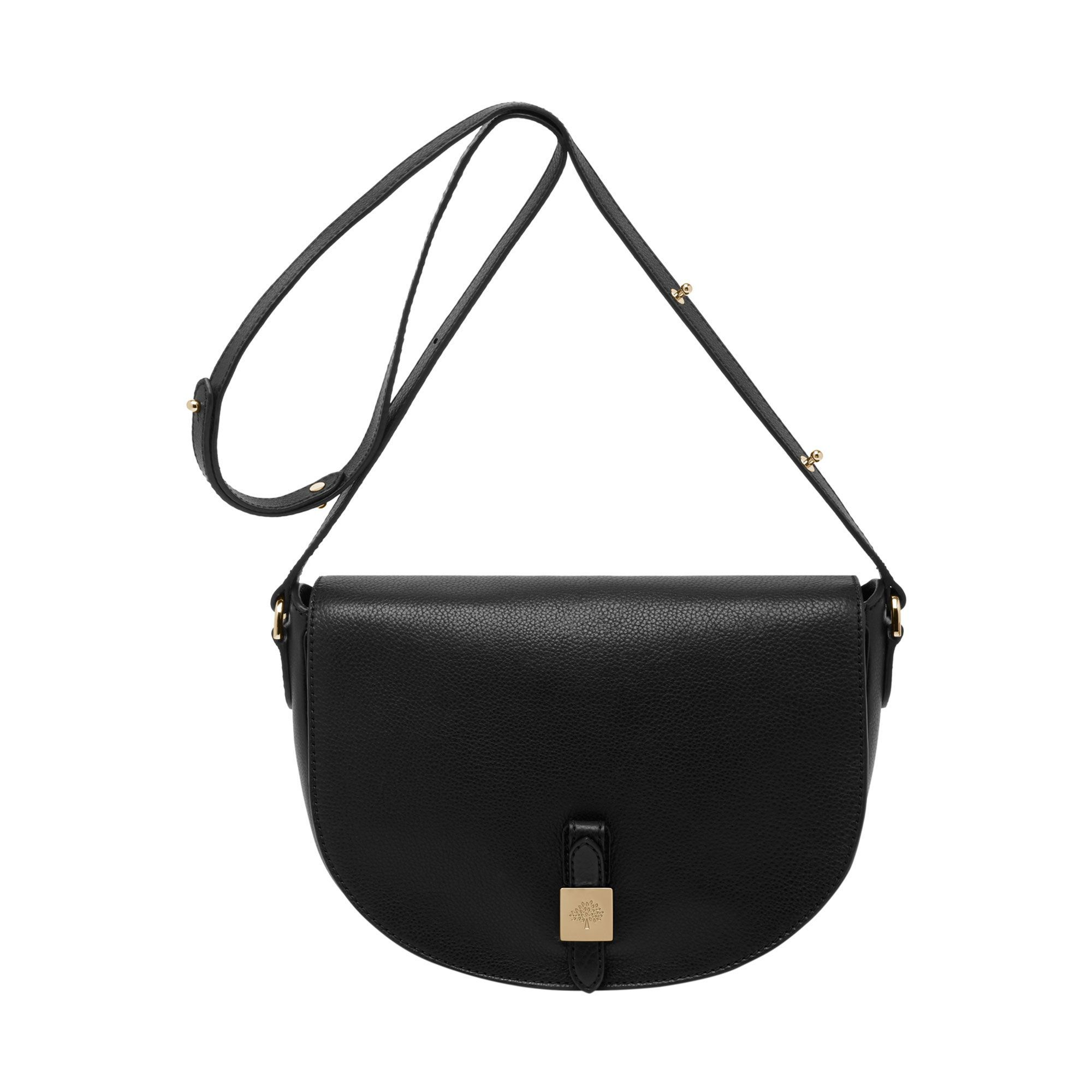 ce97fc512c15 Classic   timeless Mulberry - Tessie Satchel in Black Soft Small Grain