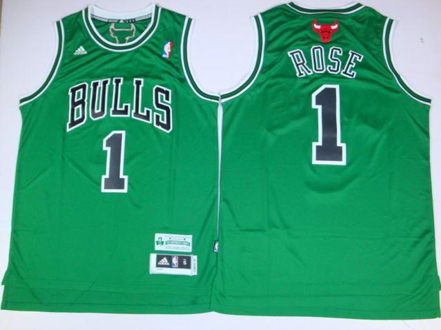 derrick rose green jersey