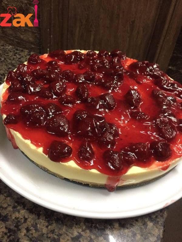 طريقة عمل التشيز كيك الشهي و لا أروع و أفخم من هيك زاكي Desserts Food Cheesecake