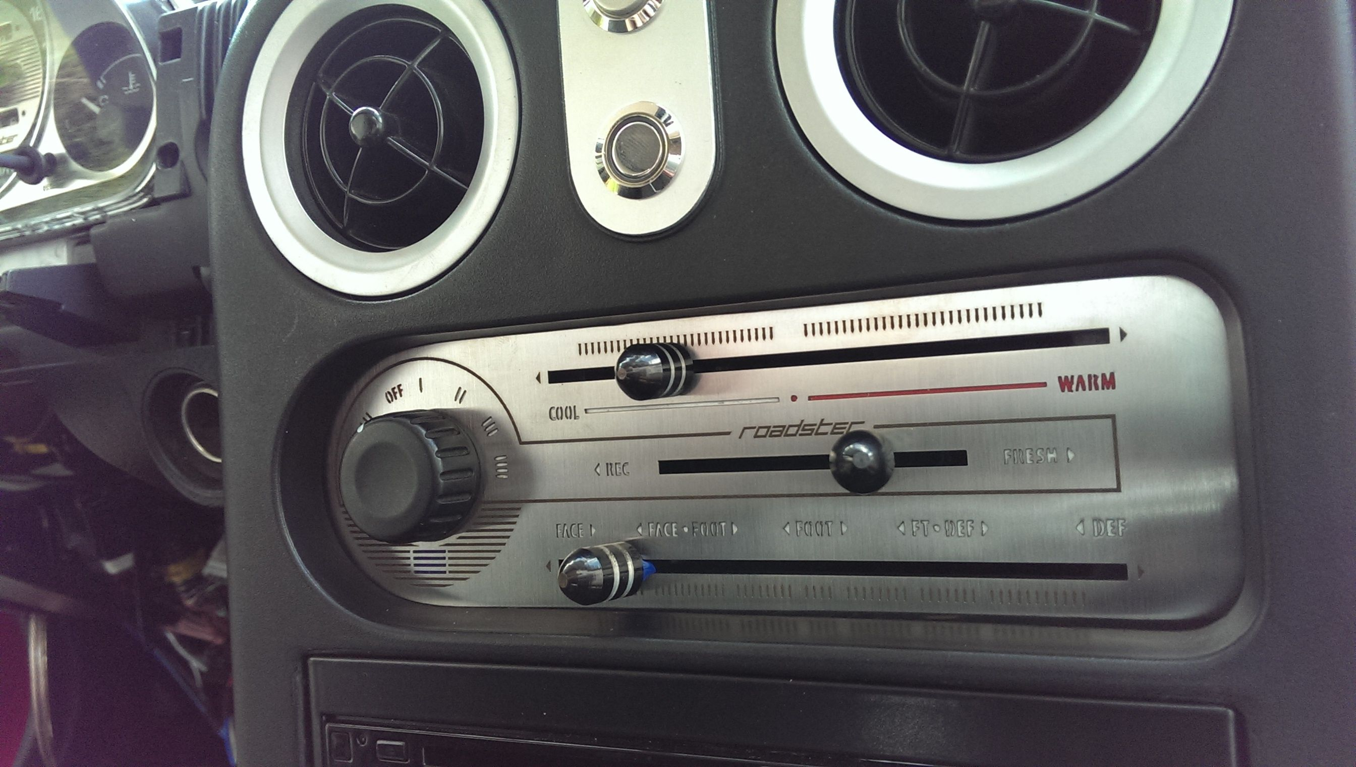 Mazda Miata OEM HVAC NA Climate Control With AC 1990-1997