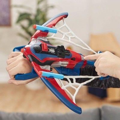 Spider-Man Web Shots spiderbolt nerf Powered Blaster jouet pour les enfants âgés de 5 et