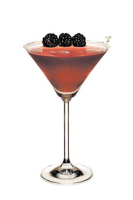 Maple Cranberry Bourbon Martini | MarlaMeridith.com