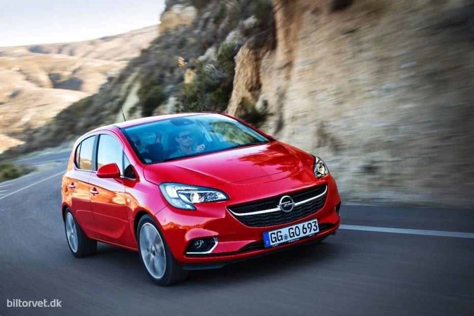 Kom Med Ud Og Kore I Den Nye Opel Corsa