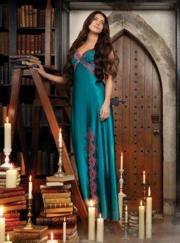 Nayomi Nightwear Long Dress Camisones Largos