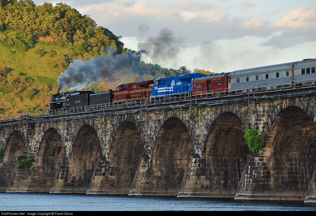 RailPictures.Net Photo: NKP 765 Nickel Plate Road Steam 2-8-4 at Harrisburg, Pennsylvania by Frank Orona