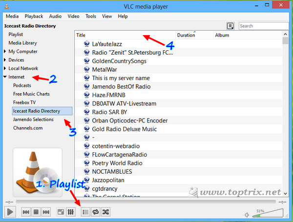 Listen & Record Online Radio With VLC   Web Services   About