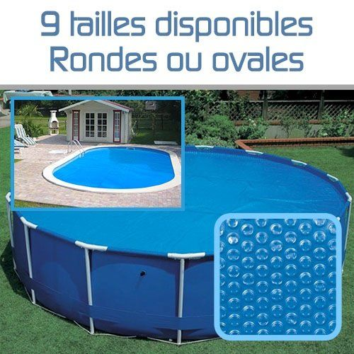 Linxor france b che bulles ronde ou ovale 180 microns for Ou acheter piscine intex