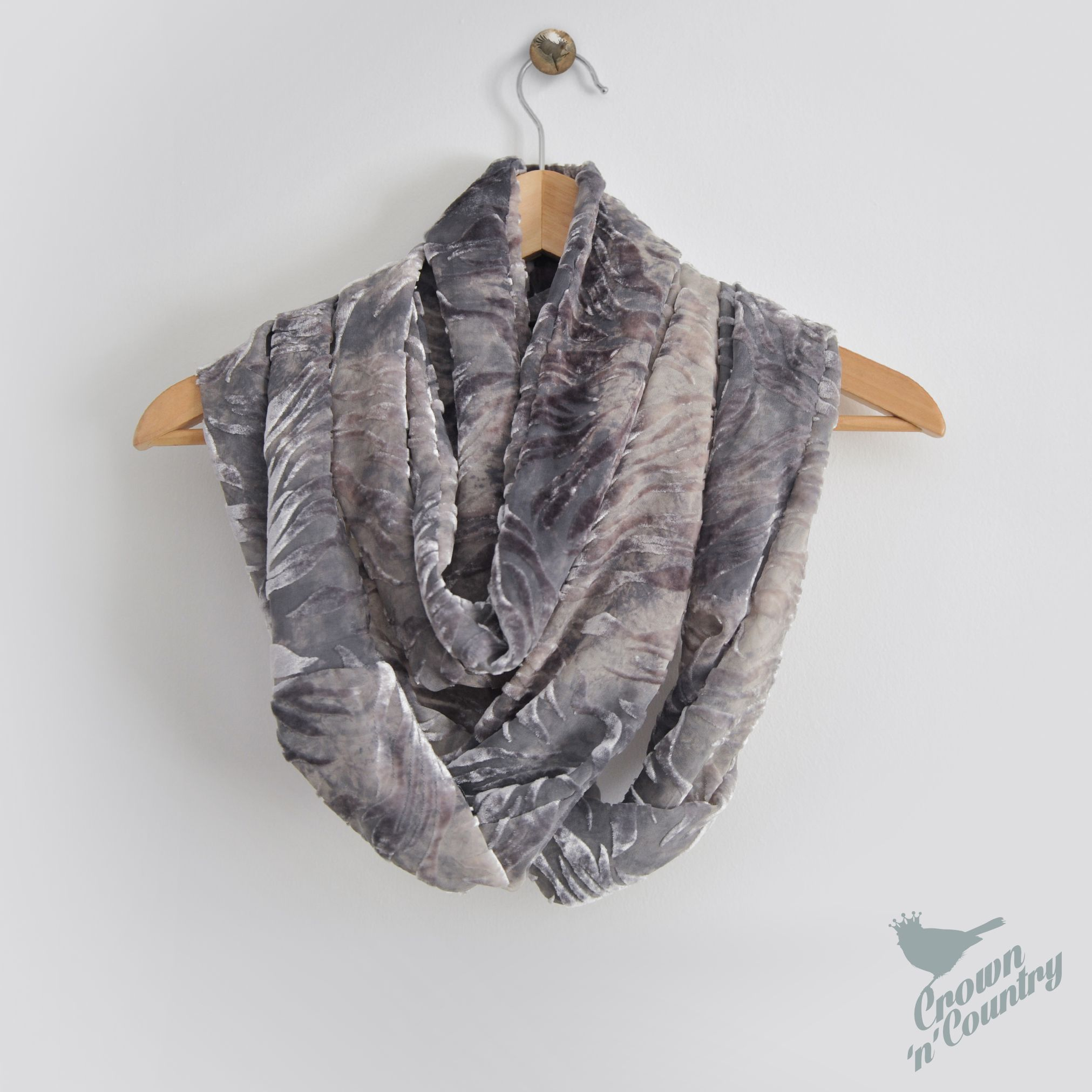 is quickly how two scarf national written and from infinity you fabric of works article the up sewing circle because grey pattern scarves project make can cut this one fairly