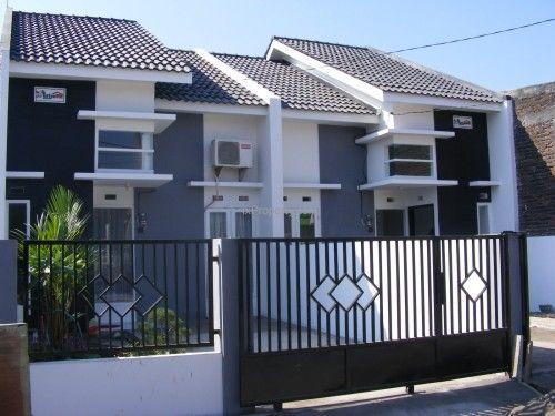 Desain Pagar Rumah Minimalis Terbaru (6) | Rumah Minimalis, Minimalis, Desain Rumah