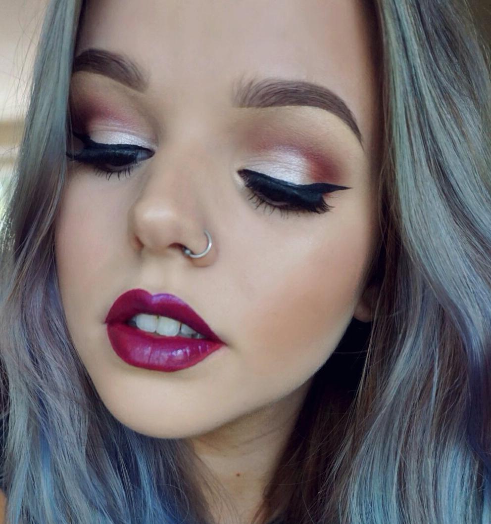 Berry Tones Makeup Tutorial Makeup geek, Makeup, Makeup