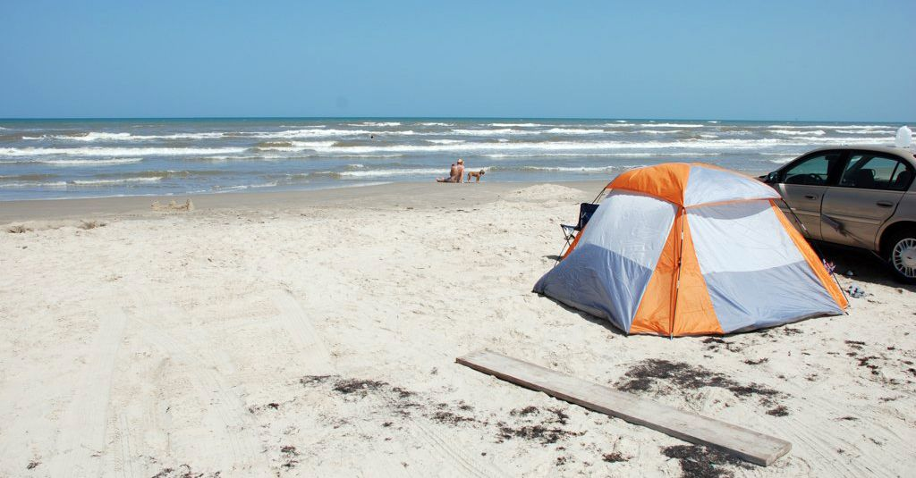 South Padre Island Texas Can Camp Right On The Beach