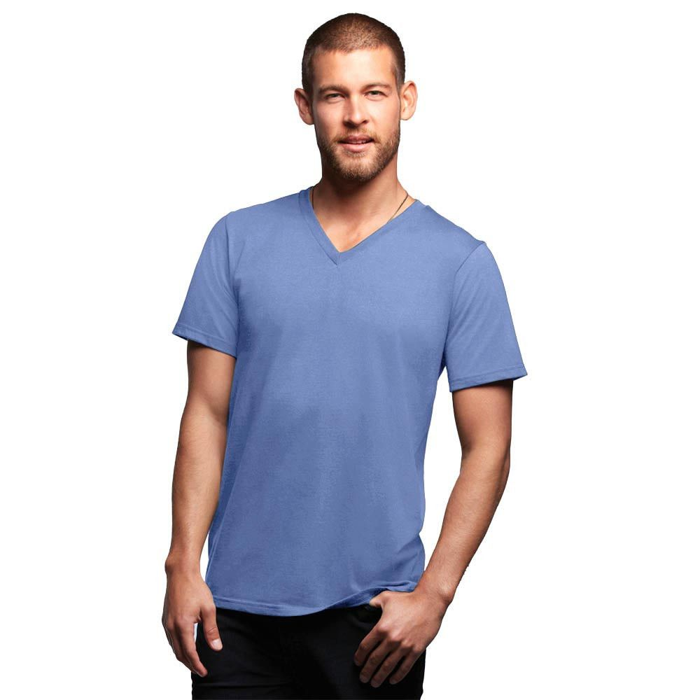 Lower Est Koblinut Classic Short Sleeve V-Neck Tee Shirt   #elo #polorepublica #exportleftovers